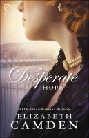Cover image for A desperate hope