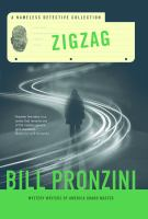 Cover image for Zigzag : a nameless detective collection