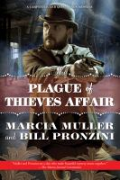 Cover image for The plague of thieves affair : a Carpenter and Quincannon mystery