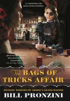 Cover image for The bags of tricks affair