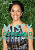 Cover image for Misty Copeland : ballerina