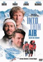 Cover image for Into thin air death on Everest