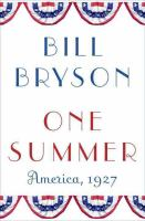 Cover image for One summer : America, 1927