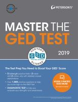 Cover image for Peterson's master the GED test 2019.