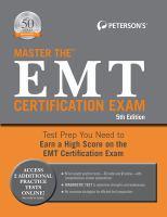 Cover image for Master the EMT-basic certification exam.