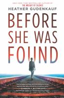 Cover image for Before she was found