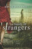 Cover image for A family of strangers : a novel