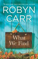 Cover image for What we find