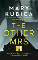 Cover image for The other Mrs. : a novel