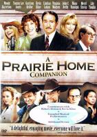 Cover image for A prairie home companion
