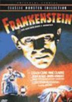 Cover image for Frankenstein [the man who made a monster]