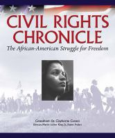 Cover image for Civil rights chronicle : the African-American struggle for freedom