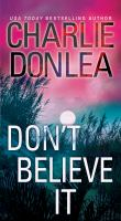 Cover image for Don't believe it