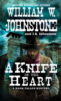 Cover image for A knife in the heart