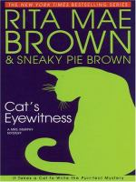 Cover image for Cat's eyewitness