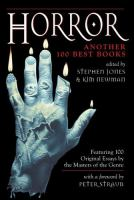 Cover image for Horror : another 100 best books