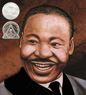 Cover image for Martin's big words : the life of Martin Luther King, Jr.