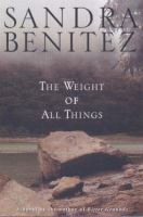 Cover image for The weight of all things