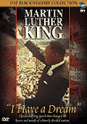 "Cover image for Martin Luther King : ""I have a dream""."