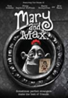 Cover image for Mary and Max