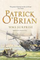 Cover image for H.M.S. Surprise