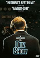 Cover image for Quiz show