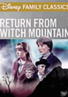 Cover image for Return from Witch Mountain
