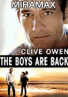 Cover image for The boys are back