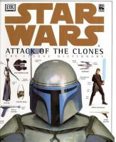 Cover image for Star Wars, attack of the clones : the visual dictionary