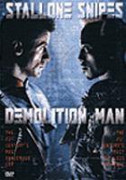 Cover image for Demolition man