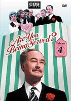 Cover image for Are you being served? Volume 4