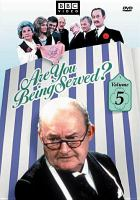 Cover image for Are you being served? Volume 5