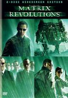 Cover image for Matrix revolutions