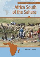 Cover image for Africa south of the Sahara
