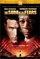 Cover image for Sum of all fears.