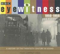 Cover image for Eyewitness 1950-1959