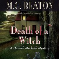 Cover image for Death of a witch