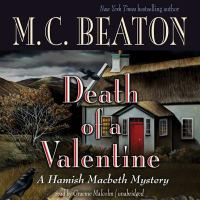 Cover image for Death of a valentine