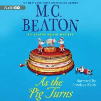 Cover image for As the pig turns