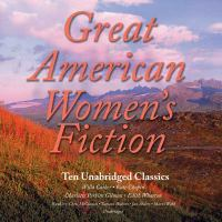 Cover image for Great classic women's fiction ten unabridged stories