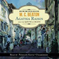 Cover image for Agatha Raisin and the quiche of death