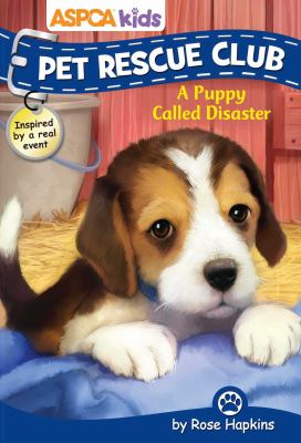 Cover image for A puppy called Disaster