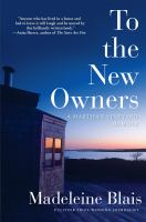 Cover image for To the new owners : a Martha's Vineyard memoir