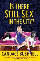 Cover image for Is there still sex in the city?