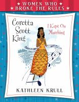 Cover image for Coretta Scott King