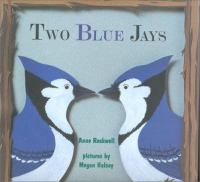 Cover image for Two blue jays