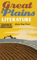 Cover image for Great Plains literature