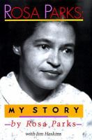 Cover image for Rosa Parks : my story