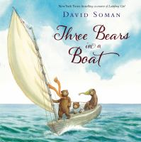 Cover image for Three bears in a boat