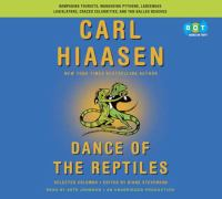 Cover image for Dance of the reptiles : selected columns